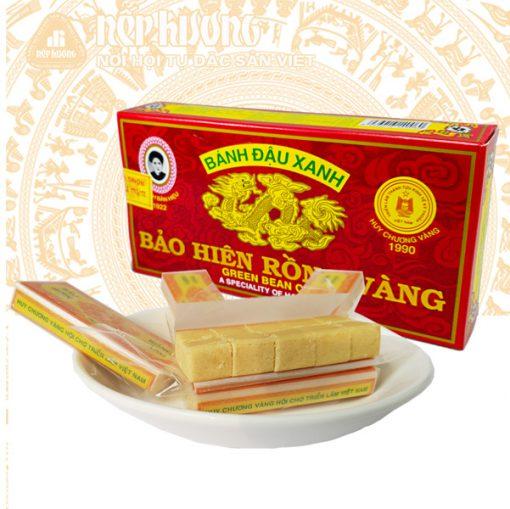 Bánh đậu xanh bảo hiên rồng vàng - đặc sản Hải Dương
