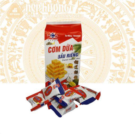 Cơm dừa sầu riêng