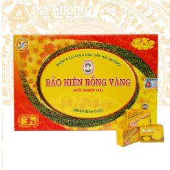 Bánh đậu xanh Bảo Hiên Rồng Vàng hộp 450g