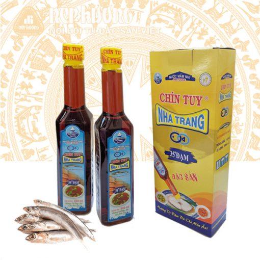 Nước mắm nhỉ cá cơm Nha Trang